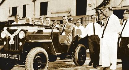 Mahindra & Mahindra в 1945 году начала производство индийских аналогов известного вездехода Willys Overland.
