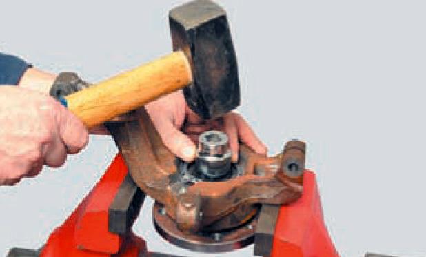 Замена подшипника передней ступицы логан своими руками