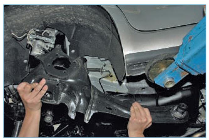 Замена заднего продольного рычага форд фокус 2