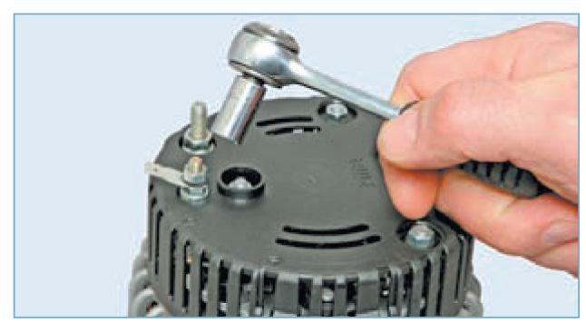 Ремонт генератора приора с кондиционером своими руками 16