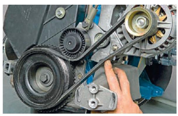 Замена ремня генератора на гранте своими руками
