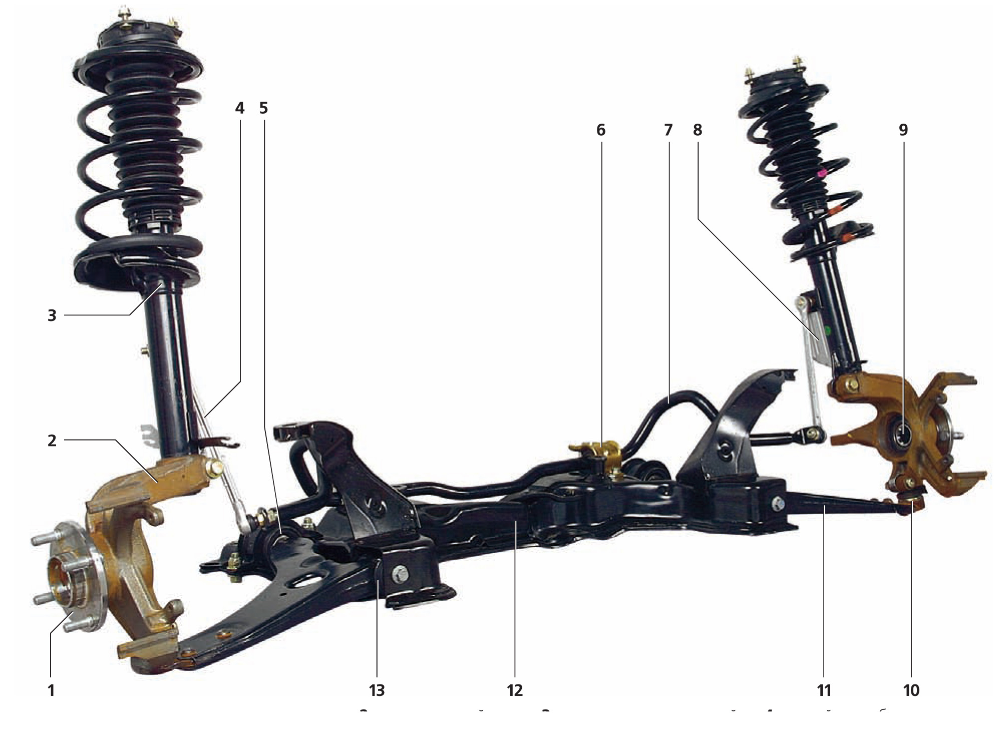 Сайлентблок передней подвески форд фокус 1 3 фотография