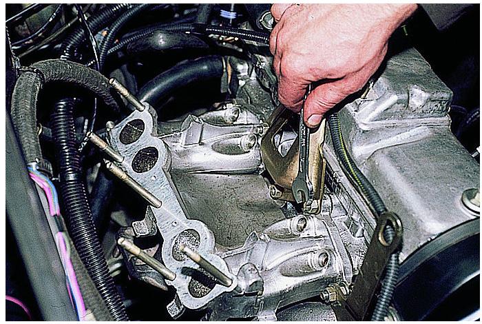 Как поменять двигатель на ваз своими руками