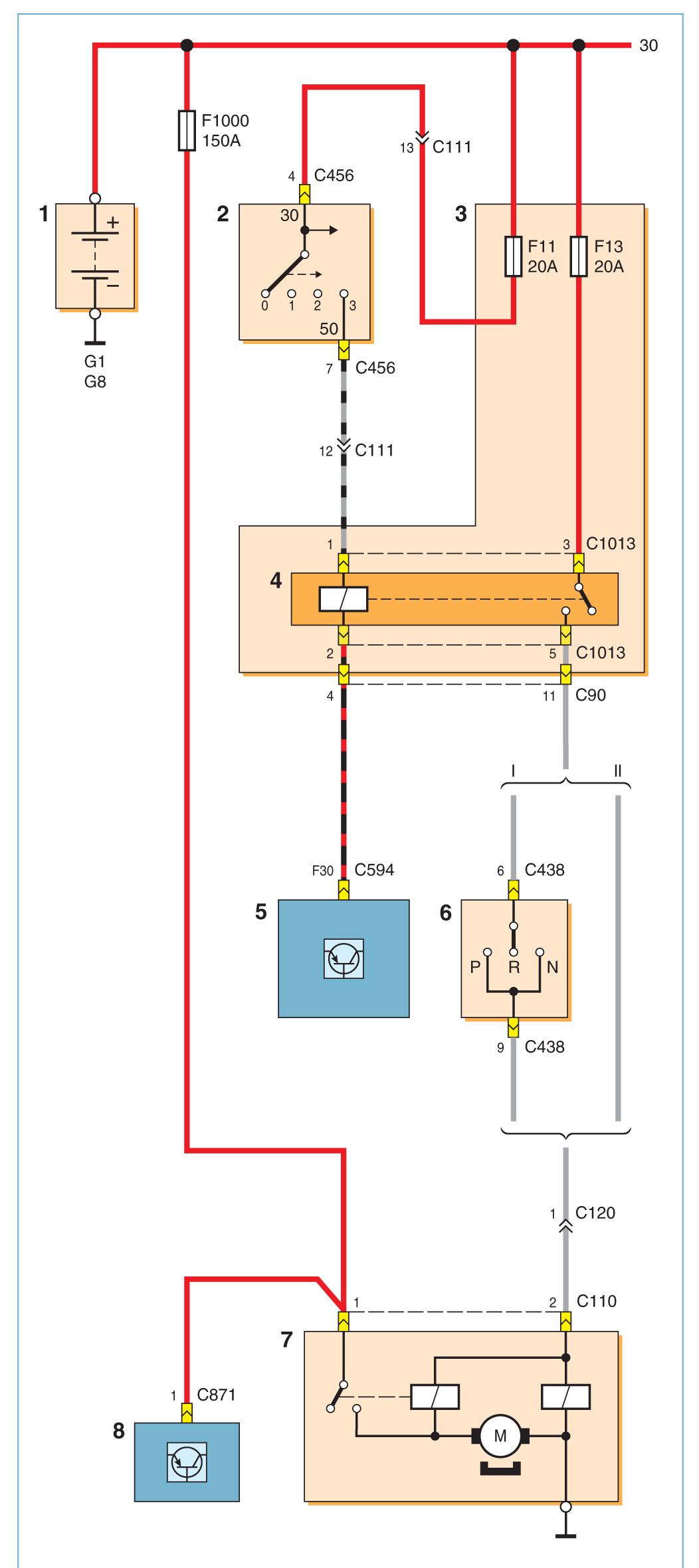 Схема управления бензонасосом форд фокус 2