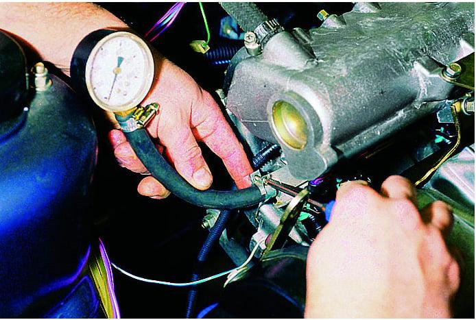 Фото №35 - ВАЗ 2110 давление топлива в рампе