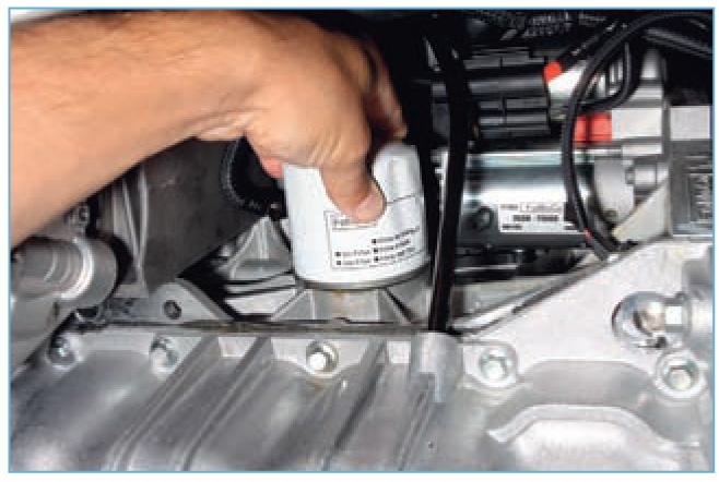 Способ очистки масла в двигателе на форд фокус