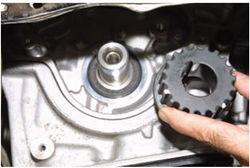 Как заменить передний сальник коленвала двигателя рокам 1 6 форд фокус 1 2 фотография