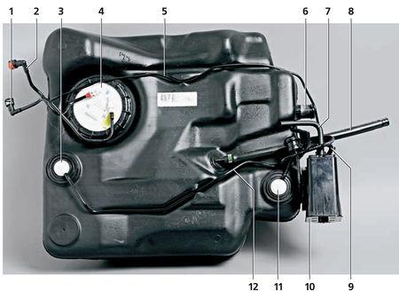 топливный бак на форд фокус 1
