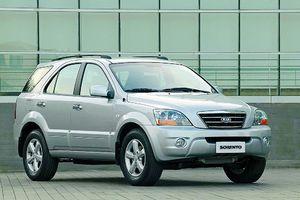Ограниченное предложение на автомобили Kia Spectra и Kia Sorento предыдущего поколения.
