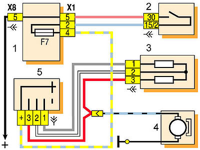 Снятие вентилятора отопителя