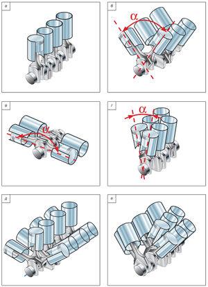 КШМ 10.jpg. Схемы расположения