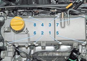 Прокладка крышки ГБЦ двигатель Ремонт Logan 2005 67-6.jpg