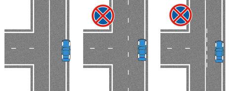 Правила парковки на т образном перекрестке