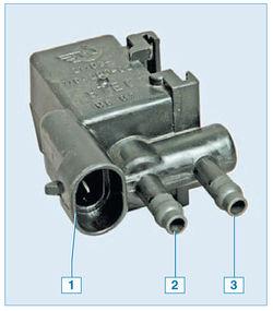 Схема подключения клапана адсорбера на приоре6