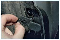 Крепеж заднего брызговика форд фокус 2