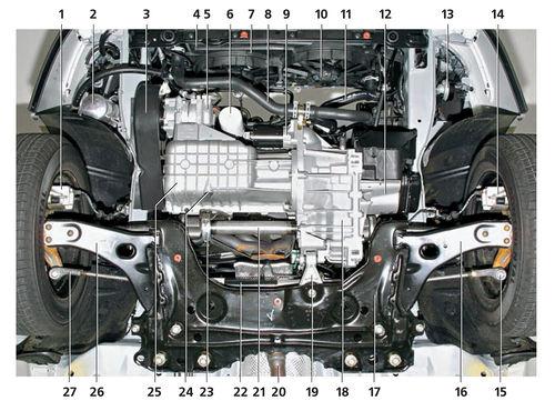 4 — радиатор системы