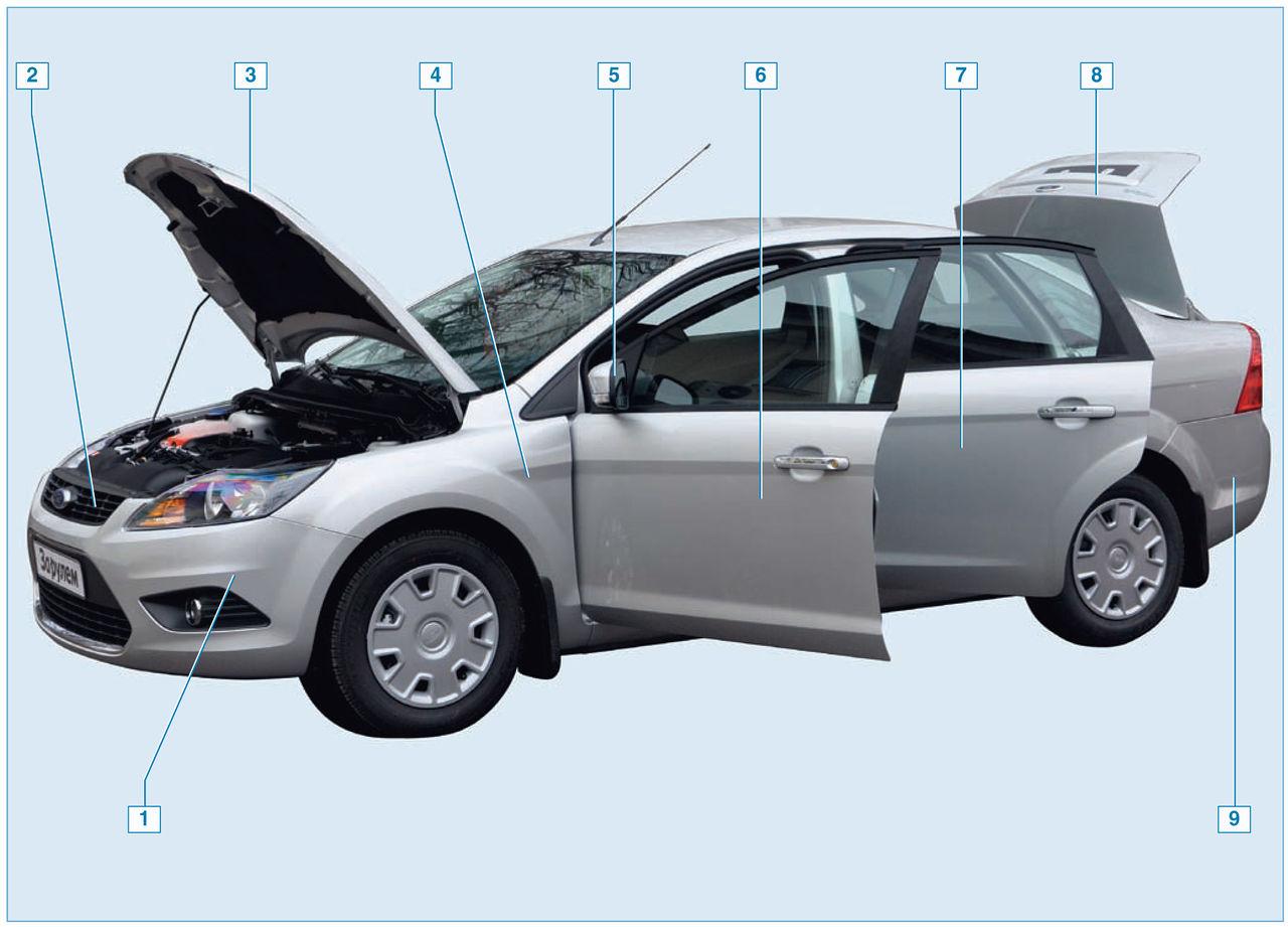 Ремонт концевика крышки багажника форд фокус 2 6 фотография