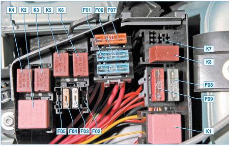 Электрооборудование Logan 2005