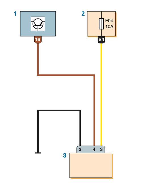 Схема блокировки пуска