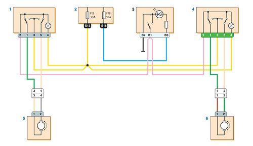 схема переключателя
