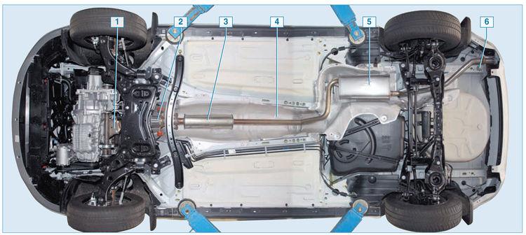 Выхлопная система ford focus 2