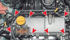 Прокладка крышки ГБЦ двигатель Ремонт Logan 2005 67-3.jpg