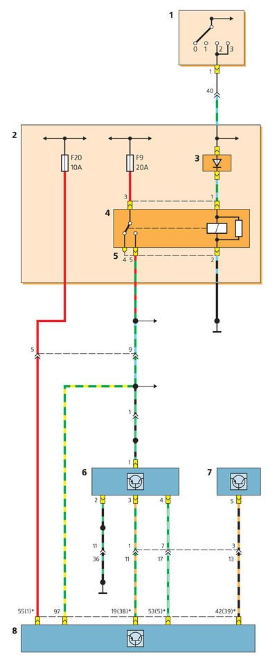 Схема включения датчика
