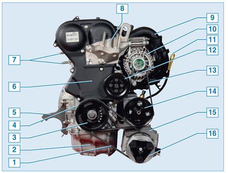 поршень ford focus 2 рисунок схема