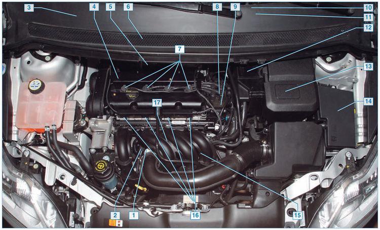 датчик кислорода форд фокус 2 1.6